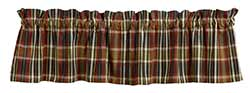 Market Street (formerly IHF - India Home Fashions) Montana Plaid Valance