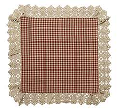 Ava Wine Check Tablemat