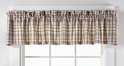 Dresden Plaid Valance