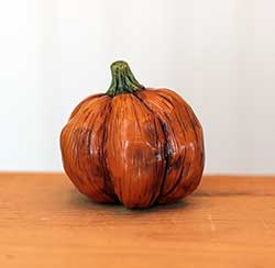 Miniature Pumpkin Sculpture - Large