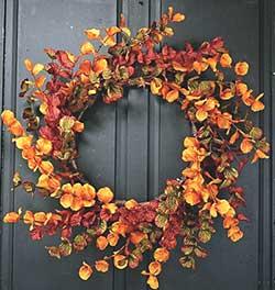 Fall Eucalyptus Wreath