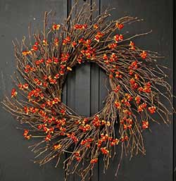Country Bittersweet Wreath