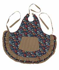 Indigo Patch Apron