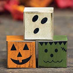 Halloween Friends Blocks (Set of 3)