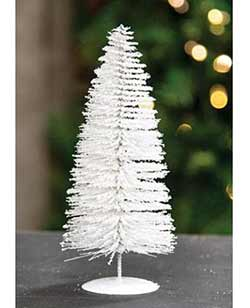 Snowy White Sisal Tree - 8 inch