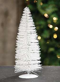 Snowy White Sisal Tree - 10 inch