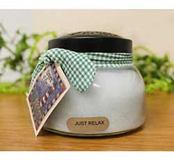Just Relax Keepers of the Light Jar Candle - Mama