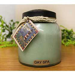 Spa Day Keepers of the Light Jar Candle - Papa