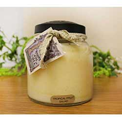 Tropical Fruit Salad Keepers of the Light Jar Candle - Papa