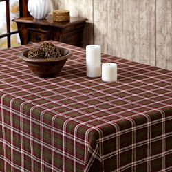 Jackson Burlap Tablecloth, 60 x 120 inch