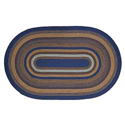 Jenson Braided Rug, Oval (5 x 8 foot)