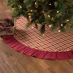 Jonathan Plaid 55 inch Tree Skirt