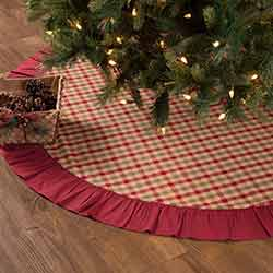 Jonathan Plaid 60 inch Tree Skirt