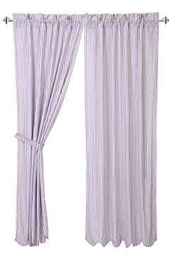 Josephine Orchid Curtain Panels (84 inch)