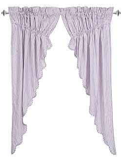 Josephine Orchid Prairie Curtain (63 inch)