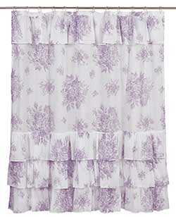Josephine Orchid Shower Curtain