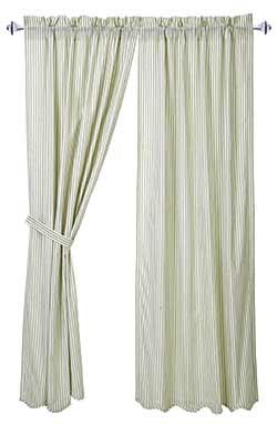 Josephine Sage Curtain Panels (63 inch)