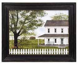 Green, Green Grass of Home Framed Print