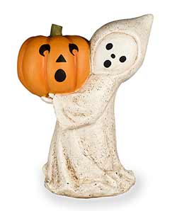 Little Ghost with Jack o'Lantern