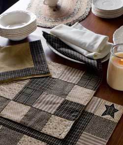Kettle Grove Patchwork Placemats (Set of 2)
