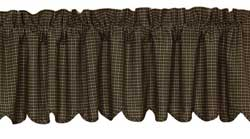 Kettle Grove Valance - Plaid