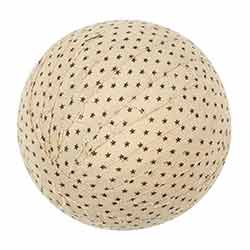 Kettle Grove 4 inch Fabric Ball (Set of 3)
