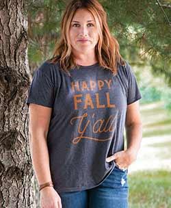 Happy Fall Y'all Tee Shirt