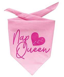 Nap Queen Dog Bandana