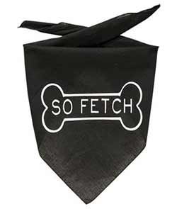 So Fetch Dog Bandana with Bone