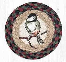 Chickadee Round 7 inch Trivet