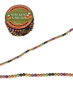 Halloween Mini Beaded Garland