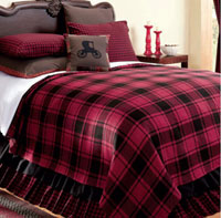 Victorian Heart Lancaster Coverlet - King