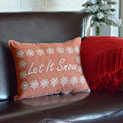 Let It Snow Pillow (14x18)