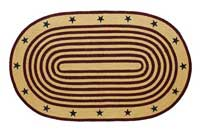 Liberty Jute Rug - Oval (Multiple Size Options)