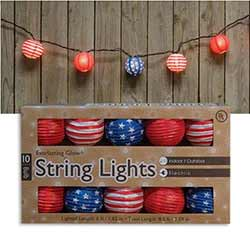 Patriotic Lantern Lights