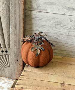 Vine Patch 7 inch Pumpkin
