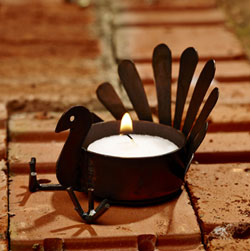 Turkey Tealight Holder