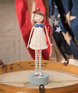 Firecracker Girl Figurine
