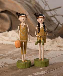Harvest Native Couple (Set of 2)