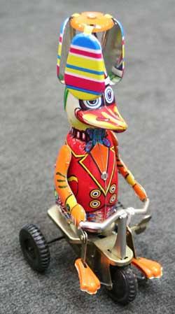 Duck on Bike