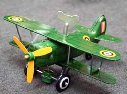 Wind Up Biplane