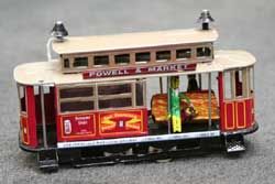 Wind-up Red Tram