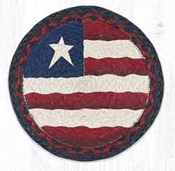 Primitive Flag 10 inch Tablemat