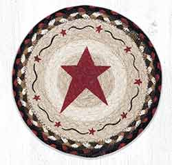 MSPR-19 Primitive Star Burgundy 10 inch Tablemat