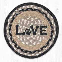 Love Pet 10 inch Tablemat