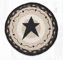 MSPR-313 Primitive Star Black 10 inch Tablemat