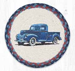 MSPR-362 Blue Truck 10 inch Tablemat