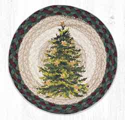 MSPR-508 Christmas Joy Tree 10 inch Tablemat