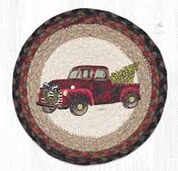 MSPR-530 Christmas Truck 10 inch Tablemat