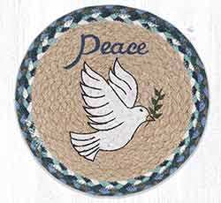 MSPR-588 Peace Dove 10 inch Tablemat
